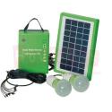 Meind Solar Led Lambalı Şarj Üniteli Güneş Panel Seti Kit GC-601A SARI RENK