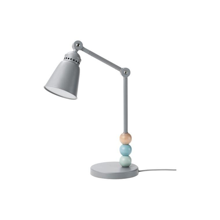 LANTLIG LED'li çalışma lambası, gri