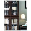 ARSTID masa lambası, nikel kaplama-beyaz, 56 cm
