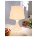 LAMPAN masa lambası, beyaz, 29 cm