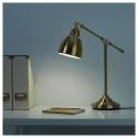 BAROMETER çalışma lambası, pirinç rengi