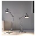 ANTIFONI çalışma lambası, nikel kaplama, 44 cm