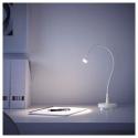 JANSJÖ LED'li çalışma lambası, beyaz, 60 cm