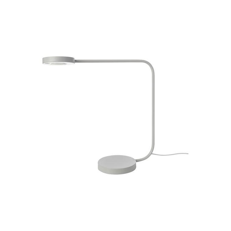 YPPERLIG LED'li masa lambası, açık gri