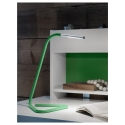 HARTE led'li çalışma lambası, yeşil-lame, 32 cm