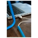 HARTE led'li çalışma lambası, mavi-lame, 32 cm