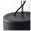 HEKTAR sarkıt lamba, koyu gri, 38 cm