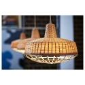INDUSTRIELL sarkıt lamba, bambu, 40 cm
