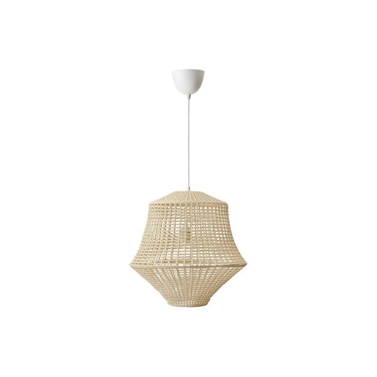 INDUSTRIELL sarkıt lamba, ekru-bej, 45 cm