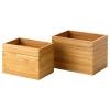 DRAGAN banyo seti, bambu