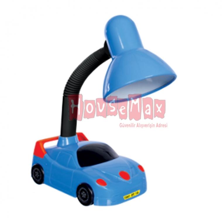 HomeCare Klaus Arabalı Masa Lambası Mavi Kırmızı