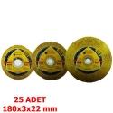 Soma Inox Metal Kesici Taş 180x3x22 mm SMA31-180K