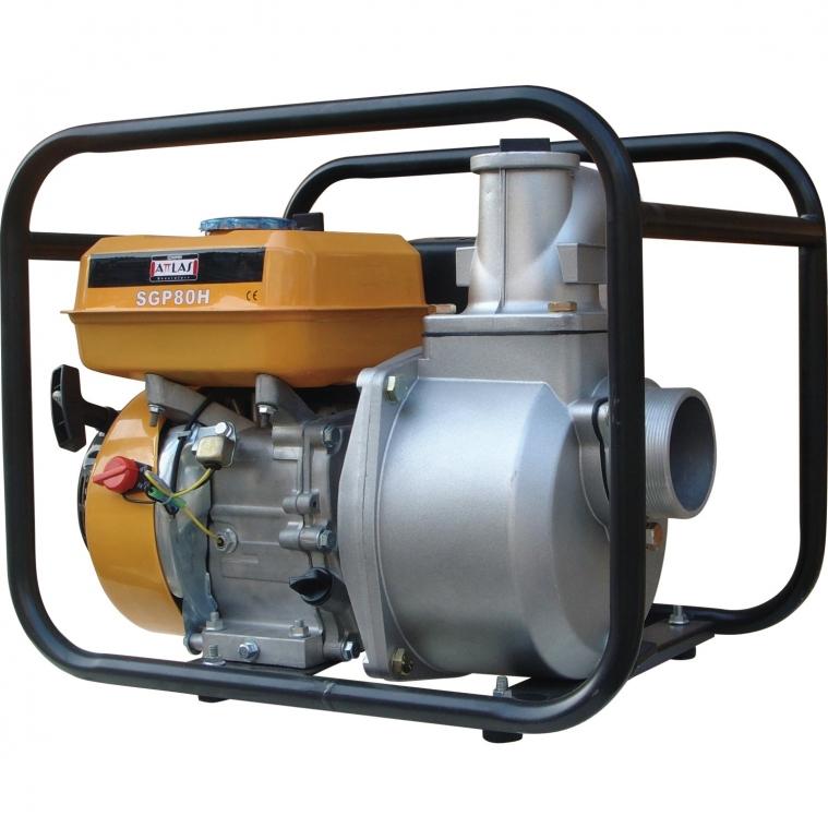 "Attlas Sgp 80 H 3"" Motopomp Benzinli Su Pompası"