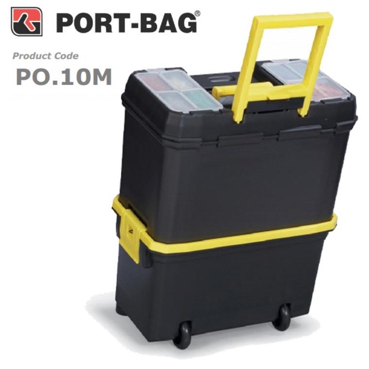 """Portbag Takım Çantası Tekerlekli 18"""" PO.10M"""