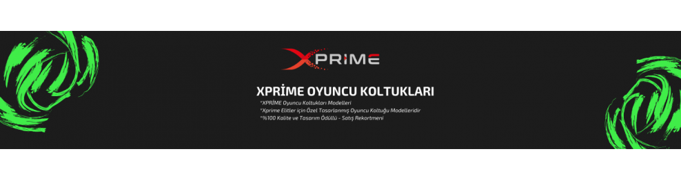 XPrime One Oyuncu Koltukları