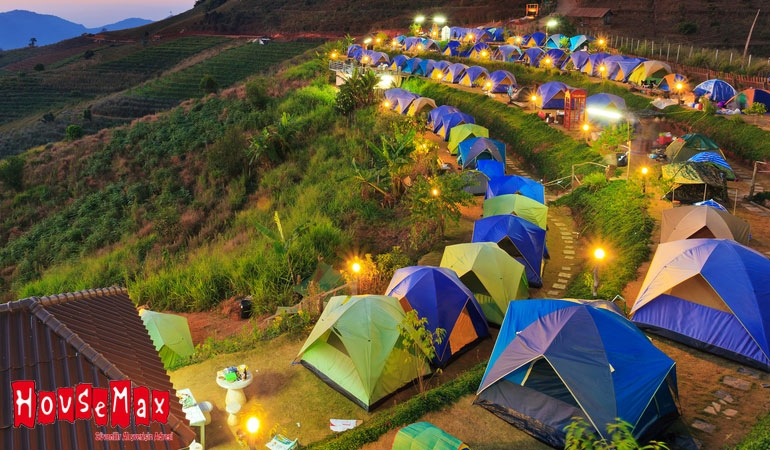 Kamp Çadırlarında Kampanya